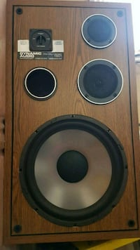 Dynamic audio Pro poly 1901 speakers. (Pair)