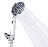 Handheld Shower Head Chrome Face with Hose and Adjustable Bracket West Chester, 45246