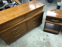 Dresser with night stand Falling Waters, 25419