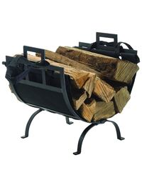 Log Holder with Canvas Tote Green Ridge, 19014