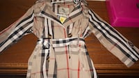 GIRLS 5-6 YEAR BURBERRY JACKET