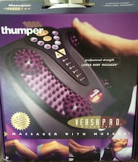 Thumper versapro massager with muscle