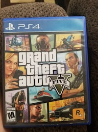 Grand Theft Auto Five PS4 game