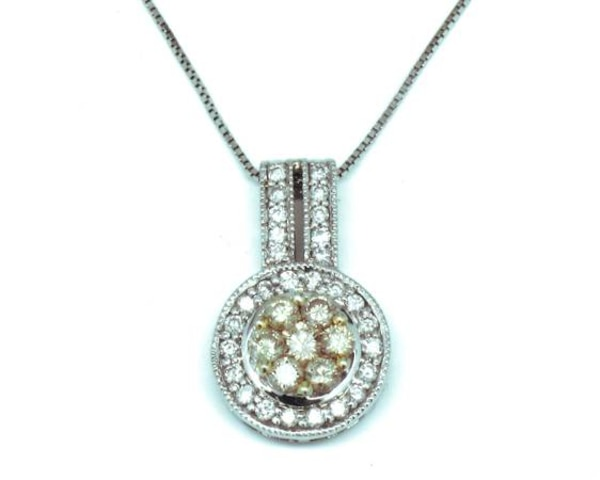 "Ladies 18"" Box Link Necklace"
