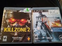 PlayStation 3 ps3 Killzone 2 and battlefield 4 Winchester, 22601