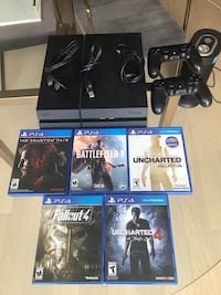 PS4 500gb, with 5 games and 2 controllers Washington, 20003