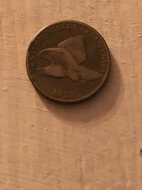 1857 Flying Eagle Cent Fair Condition Manchester, 03104