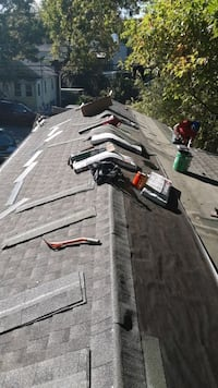 Roofing siding gutter chimney company