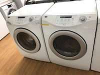 Maytag white stackable washer and dryer set  Woodbridge, 22191