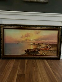 Painting with frame Laval, H7K 3W5