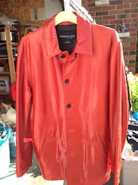 red button-up long-sleeved shirt Vaughan, L4J 1A7