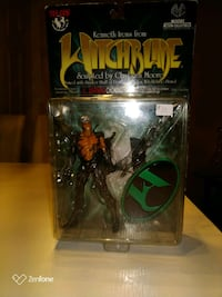 Action collectibles ,Kenneth irons from, hitchblad Calgary