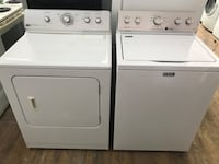 white washer and dryer set 790 km