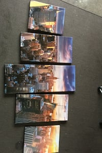 New York City living room painting set of 5.    Lincoln, L0R 1B5