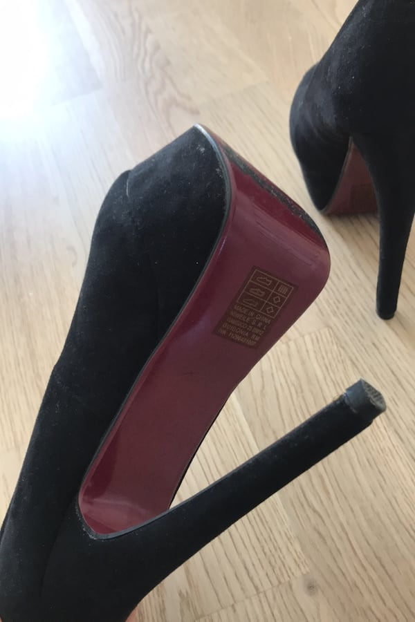 High heels shoes size 37 5