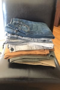 7 Pairs of Pants/Jeans for Price of 1