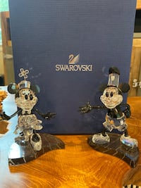 Mickey/Minnie Swarovski figurine set  Silver Spring, 20906