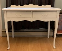 Shabby chic small antique desk Burlington