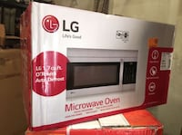 LG Electronics 1.7 cu. ft. Over the Range Microwave Oven in Stainless Steel with EasyClean Interior Garden Grove, 92843