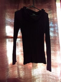 Black rib sweater Coaldale, T1M