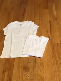 New -2 Girls School Uniform - Short Sleeve Polo - Size 7/8 Laval, H7X 3X2