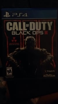 Call of Duty Black Ops 3 Xbox One game case Edmonton, T5G 1H3
