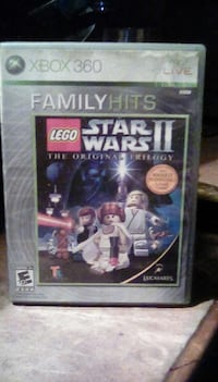 xbox 360 Lego Star Wars 2 the original trilogy game case