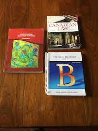 EUC 3 Durham College text books for the Justice Services