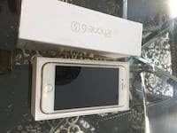 I phone 6S 128 GB with box gold colour