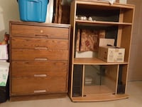 Tv stand and bedroom dresser (both for $30) Plattsburgh, 12901