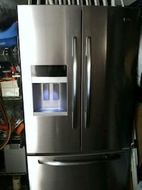 stainless steel french door refrigerator Dallas, 75240