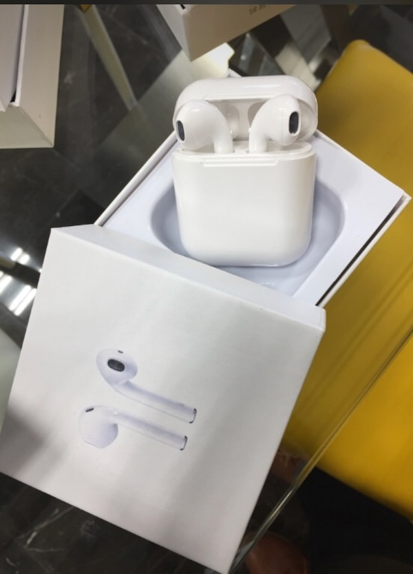 New AirPod twinset with charging dock not an Apple product but comparable features good sound