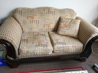 brown and beige loveseat Langley, V3A 3X2