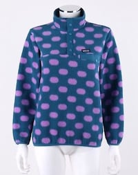 Black and pink polka dot zip-up jacket Roseville, 55113