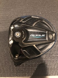 Callaway Rogue Sub Zero LH driver *Head Only* Mississauga, L5W 1S5
