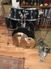 CB Drum set Sabian b8 Cymbals and PDP hardware ready to play Oregon City, 97045