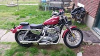 red and black cruiser motorcycle Ashburn, 20147