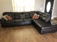 Large, Brown Sectional Cooper City, 33330