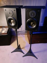 Stands and speakers
