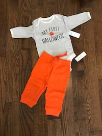 toddler's white and red onesie Vaughan, L4H 0X1