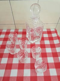 Set Liquore Cristallo