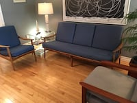 Mid century modern Sofa and lounge chair  Toronto, M2J 2Z7