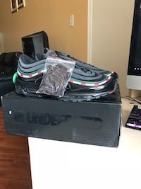 Size 10 undefeated air max 97s Toronto, M9V 5G7