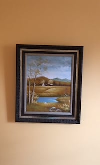 Wooden framed painting Fairfax, 22032