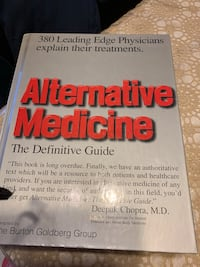 Alternative medicine book