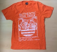 5€ - Jack & Jones T-Shirt orange Gr. L Rodgau