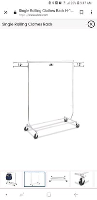 white metal clothes drying rack New York, 10010
