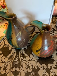 2 Decorative hand made jugs Ottawa, K1T 1E9