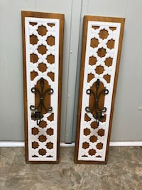 Set of Handmade wall sconces Brampton, L6T 2R4