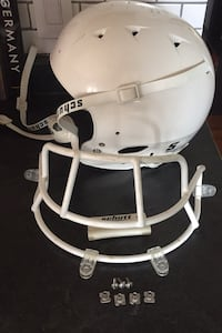 Schutt White Football Helmet